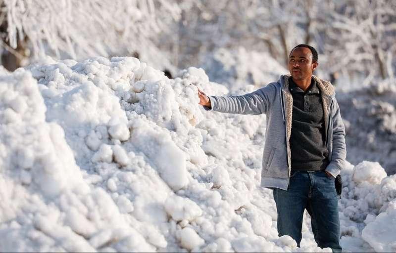 cascate del niagara ghiacciate 9