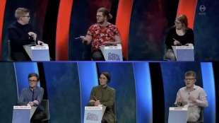concorrente sbrocca durante il quiz gettu betur in islanda 2