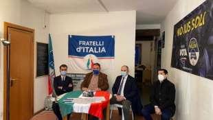 conferenza stampa fratelli d italia reggio emilia