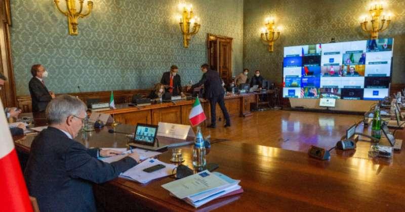 daniele franco video conferenza con gli altri ministri dell economia g20