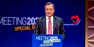 Draghi al Meeting di Comunione e liberazione