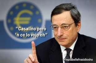 Draghi - Federico Palmaroli per Dagospia