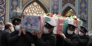 funerale di Mohsen Fakhrizadeh