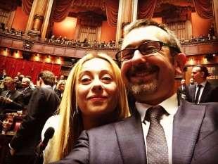 Giorgia Meloni Andrea Delmastro Delle Vedove