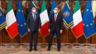 GIUSEPPE CONTE E MARIO DRAGHI