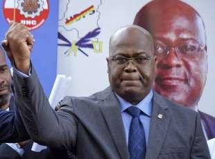 il presidente del congo felix tshisekedi