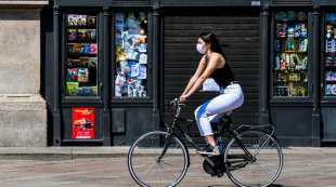 in bici durante il covid