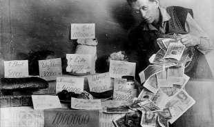 iper inflazione nel 1923