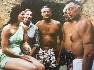 Jackie Kennedy, Suni e Gianni Agnelli, Benno Graziani, Stas Razdwill
