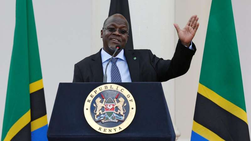 John Magufuli PRESIDENTE DELLA TANZANIA