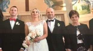la foto del matrimonio di egidio battaglia