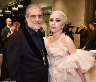 lady gaga con il padre joe germanotta