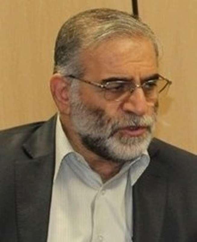 lo scienziato Mohsen Fakhrizadeh