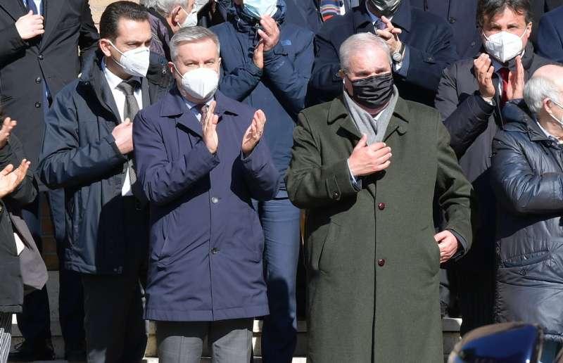 lorenzo guerini giuseppe fioroni foto di bacco