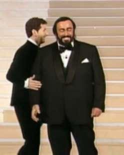 luciano pavarotti fabio fazio sanremo 2000 2