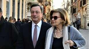 MARIA SERENELLA CAPPELLO E MARIO DRAGHI