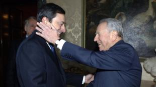 MARIO DRAGHI E CARLO AZEGLIO CIAMPI