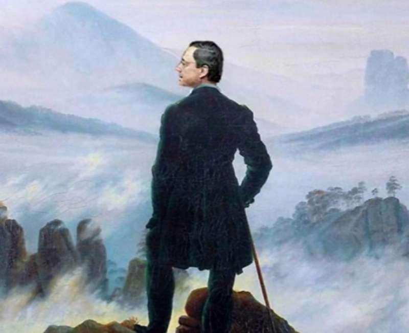 Mario Draghi – viandante sul mare di nebbia