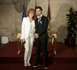 MATRIMONIO FIORELLA MANNOIA CARLO DI FRANCESCO