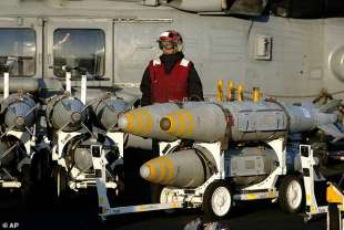 missili jdams utilizzati per il raid in siria