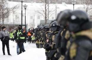 proteste per la liberazione di navalny in russia 5