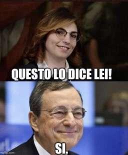 QUANDO LAURA CASTELLI INCONTRA MARIO DRAGHI
