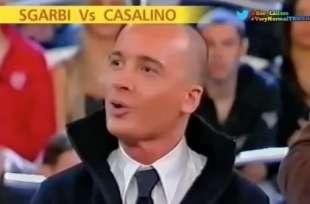 rocco casalino vs vittorio sgarbi buona domenica 2006 1