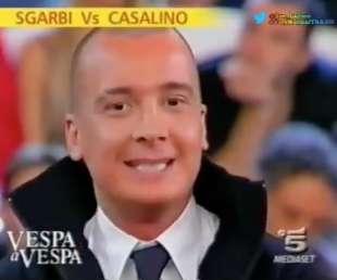 rocco casalino vs vittorio sgarbi buona domenica 2006 3