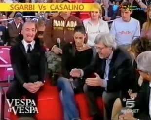 rocco casalino vs vittorio sgarbi buona domenica 2006 5