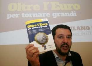 SALVINI CONTRO L EURO