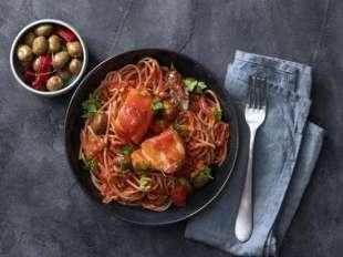 spaghetti al baccala'