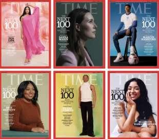 time 100 persone piu' influenti 2021 cover