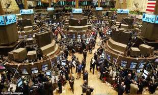 traders alla borsa di new york