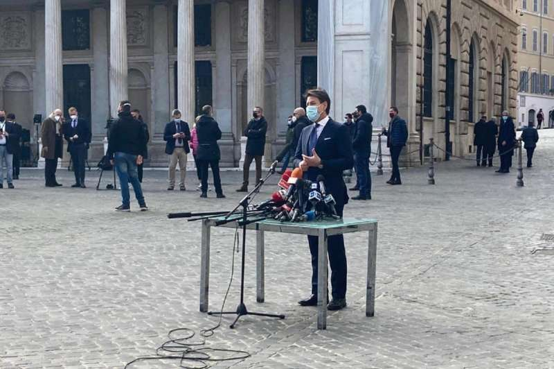 ULTIMO DISCORSO DI GIUSEPPE CONTE DA PRESIDENTE DEL CONSIGLIO