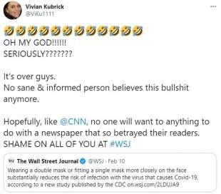 vivian kubrick twitta teorie complottiste 5
