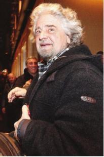 beppe grillo, il fondatore del m5s