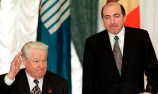 Boris Berezovsky e Boris Eltsin