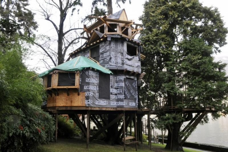 La casa sull 39 albero di marcello dellutri dago fotogallery - Casa sull albero minecraft ...