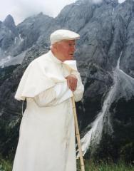 GIOVANNI PAOLO II WOJTYLA IN MONTAGNA