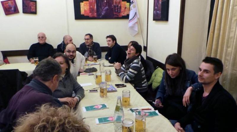 Grillini a cena firenze dago fotogallery for Diretta streaming parlamento