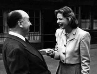 Hitchcock e Bergman