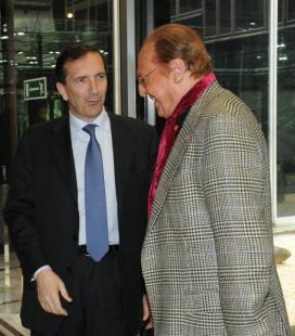 Luigi Gubitosi e Renzo Arbore