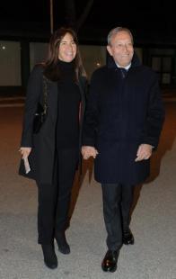 Antonio Catricala e moglie