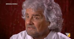 beppe grillo intervistato da mentana nella sua casa di bibbona
