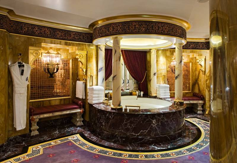 Bagno suite burj al arab dago fotogallery for Interno 7 luxury rooms
