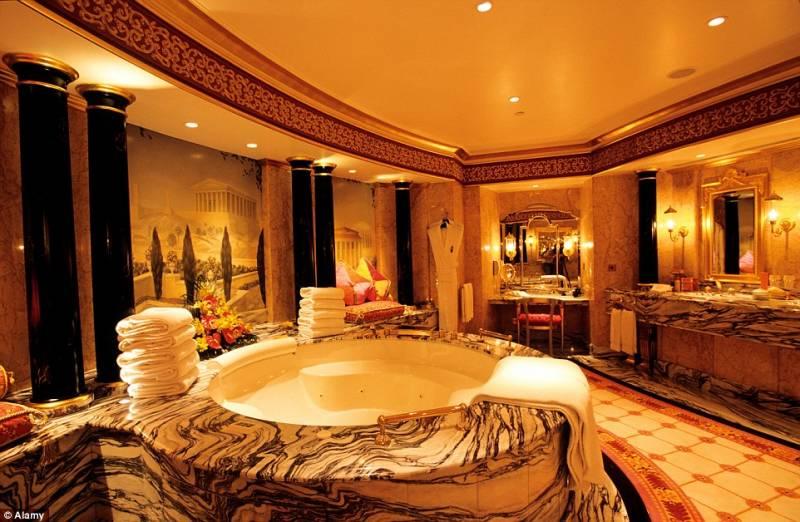 bagno suite reale di burj al arab - Dago fotogallery