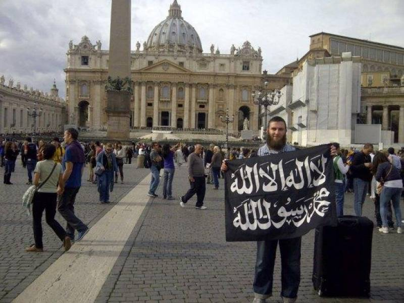 Isis san pietro un fan dello stato islamico in vaticano - Le finestre sul vaticano ...