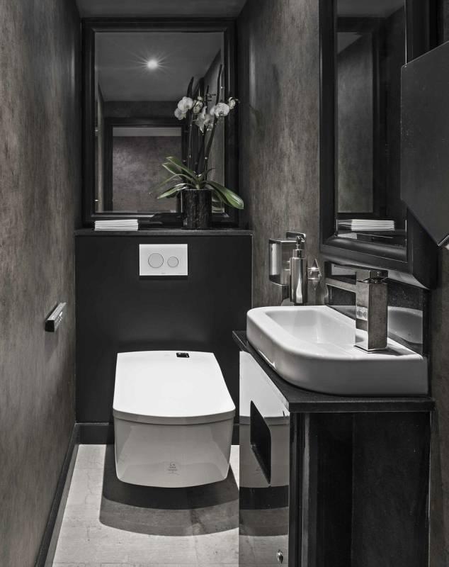 M restaurants the city dago fotogallery for Restaurant restroom design ideas