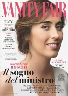 maria elena boschi intervista vanity fair