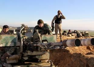 peshmerga curdi combattono isis in iraq